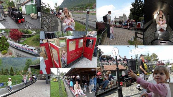 Journée avec Jeanne au swiss vapeur parc