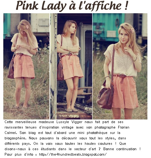 Zoom sur Pink Lady.