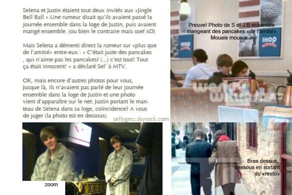 ◗ Dossier romance entre Justin Bieber et Selena (en collab' avec x-dream-selena-x)