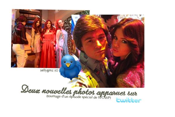 ◗ Deux nouvelles photos sur twitter!