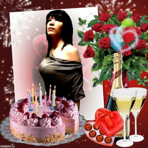 merci martine pour ce  magnifique cadeau d anniversaire pour les 19 ans de ma petite fille lily