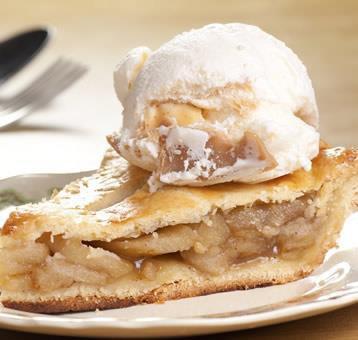 j aime aussi l apple pie et une glace au caramel
