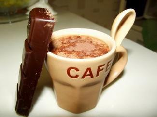 hummmmmmmm le milk shake au mutella sans glace