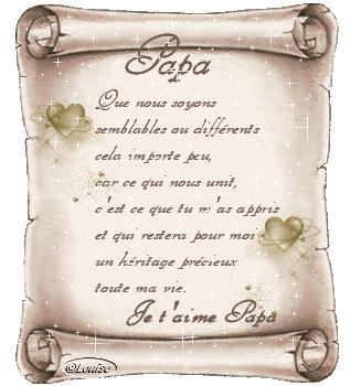 Petit Poeme Pour Mon Papa Marine Et Sa Passion