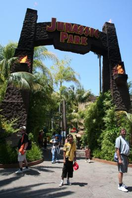Les parc d'attractions visitées : Universal Studios Hollywood