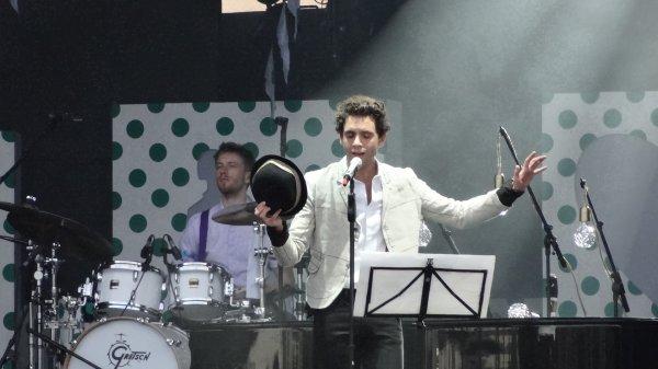 Mika en concert à l'Armada 2013 - Rouen