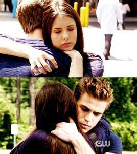 Damon & elena ?  Stefan & elena ?