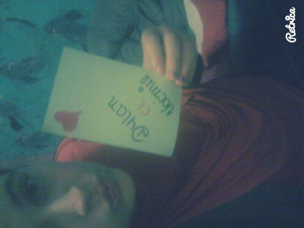 Mon amour : ma vie ♥