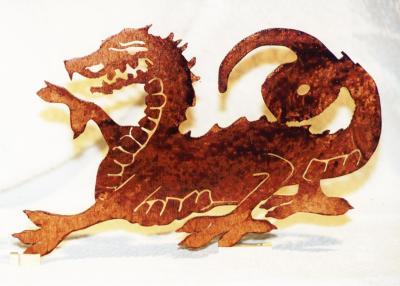 Découpage sur bois - 27 (Dragon)