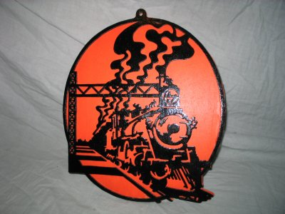 Découpage sur bois - 127 (Locomotive vue en perspective) III