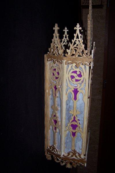 Découpage sur bois - 162 (Niche gothique) - Suite