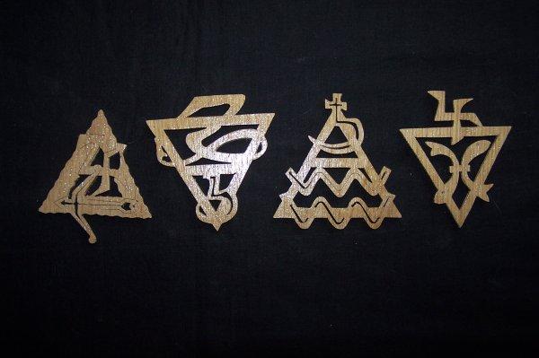 Découpage sur bois - 180 (Signes Astrologiques)