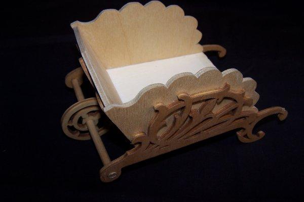 Découpage sur bois - 185 (Petite Brouette)
