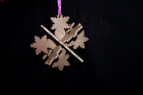 Découpage sur bois - 194 (Déco de Noël)