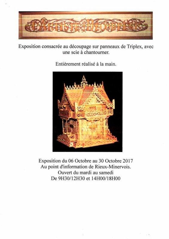 Exposition à Rieux-Minervois (Aude - 11)