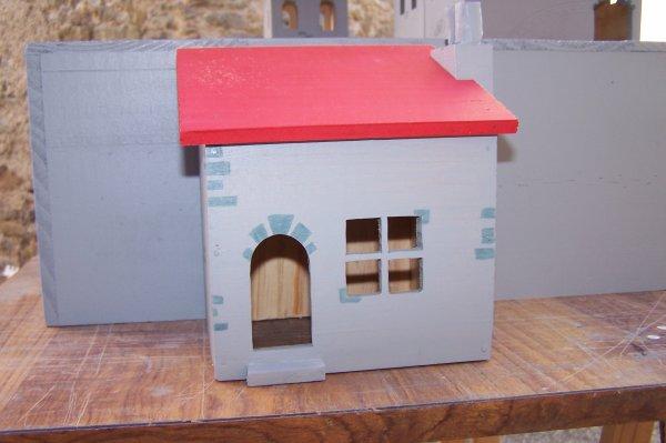 Découpage sur bois - 238 (Chateau La Pompe) Partie I I