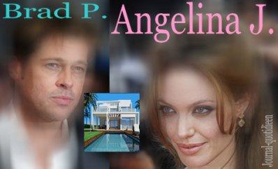 x Brad Pitt et Angelina Jolie s'installent en France ; ( Définitivement ? )