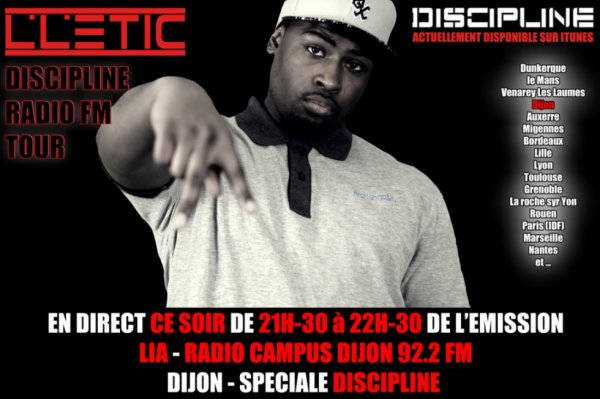DISCIPLINE RADIO FM TOUR DIJON