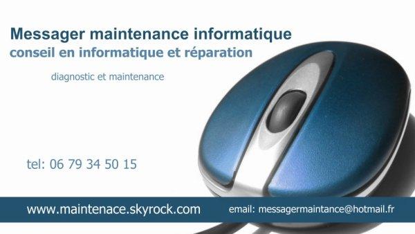 messager maintenance informatique