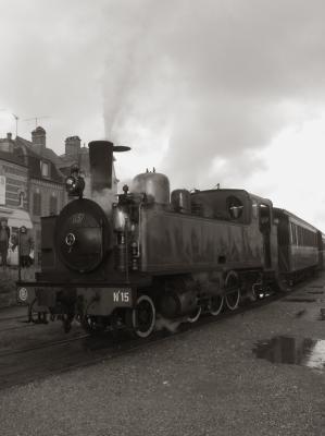 La baie de Somme et son chemin de fer.