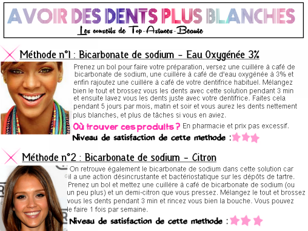 Astuce n°2 : Comment rendre nos dents plus blanches ?