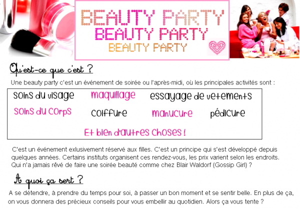 Beauty Party