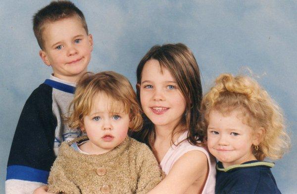 moi et mes mon frere et mes 2 soeu