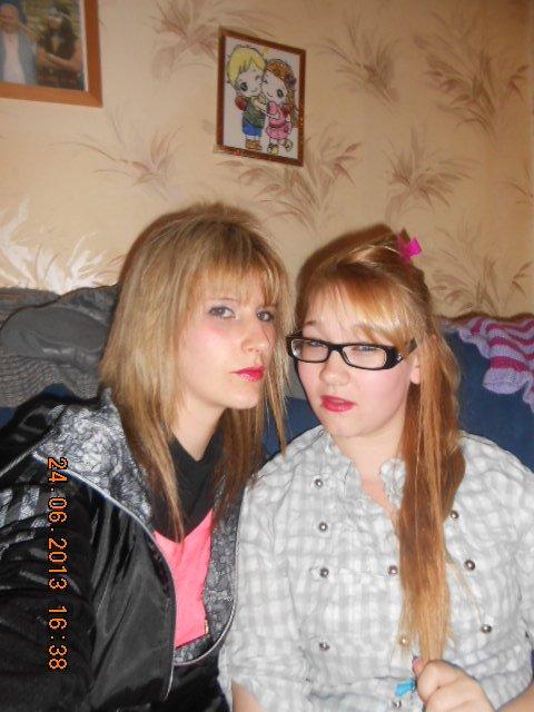 Moi & ma soeur Fuck a nos tete Hein ;) <3