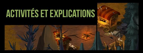 Activités et Explications