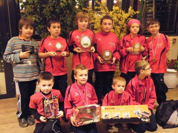 Critérium catégorie - de 9 ans et -de11 ans dimanche 19 décembre 2010