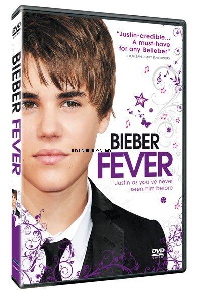 «BIEBER FEVER» le DVD.