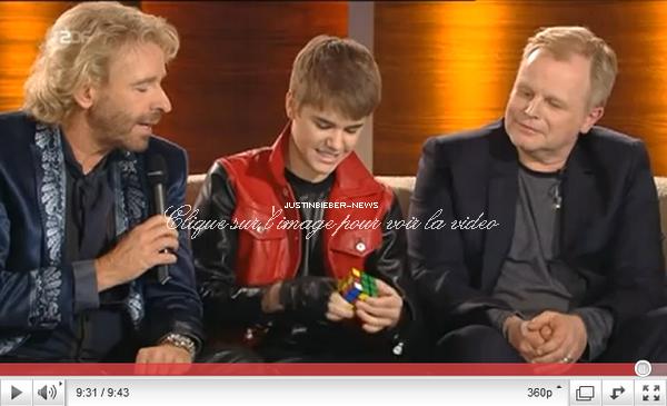 """19 MARS 2011 - """"WETTEN DASS... ?"""" (Allemagne)"""