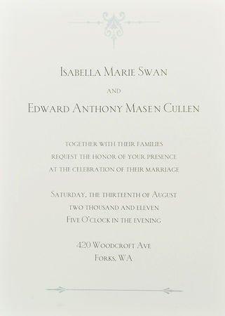 les invitation du mariage !!