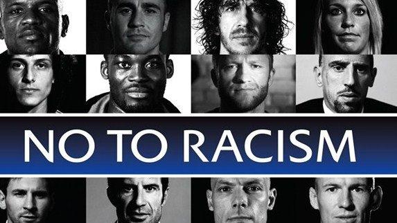 Le football européen dit non au racisme