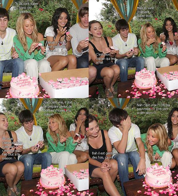 Ashley aime les gâteaux ! *o* *bave* WHAT-IF-I-AM-ALONE.SKYROCK.COM