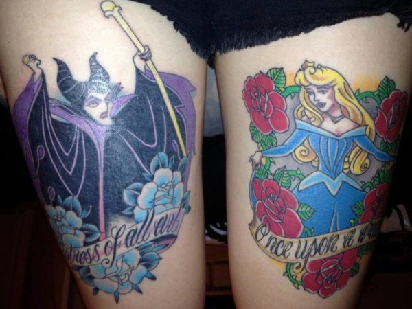 Addicted-To-Tattoos Disney
