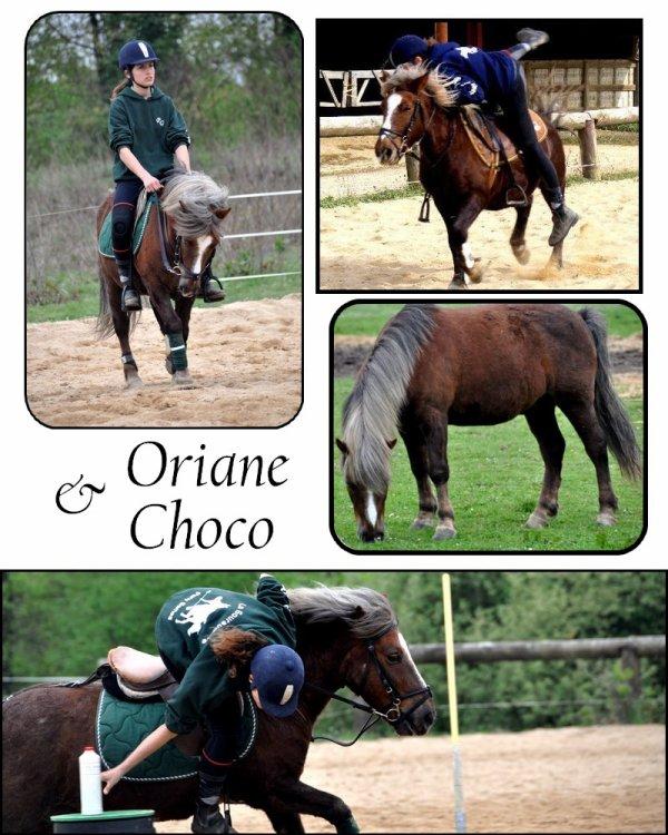 Oriane et Choco