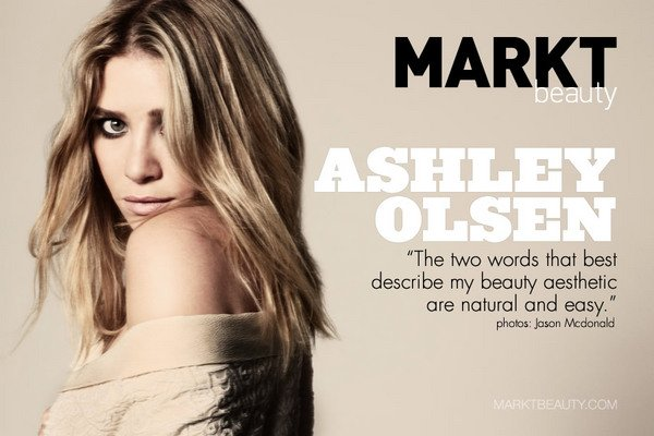 Ashley Olsen - Mark T Beauty Photo Shoot.