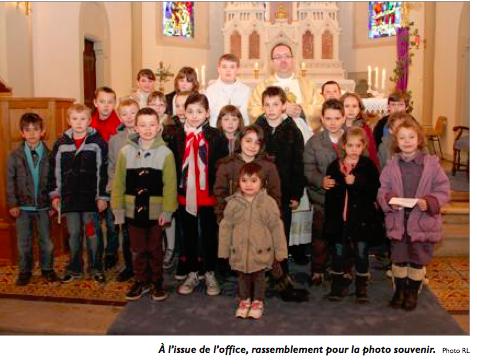 Messe des familles à Frémestroff le 10 mars 2013