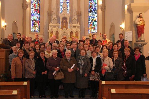 Rassemblement des chorales à Frémestroff le 21 avril 2013