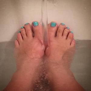 Un bon bain 😁💋