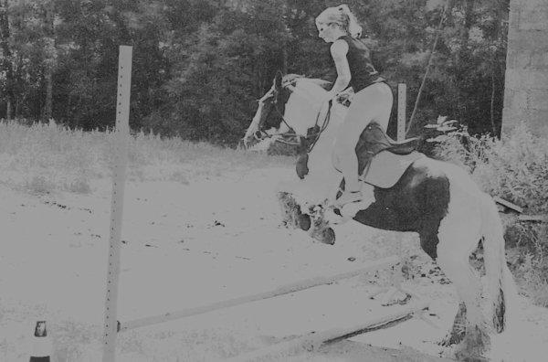 Le saut d'obstacles !! <3