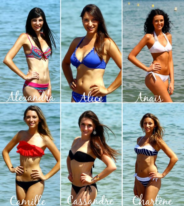 Candidates à l'élection de Miss Roussillon