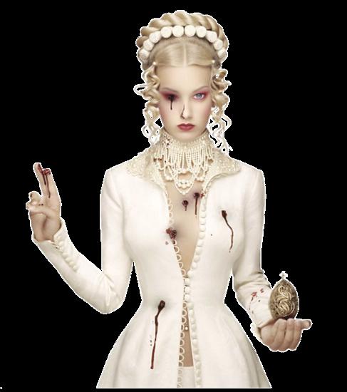 Femmes Elégantes Gothiques