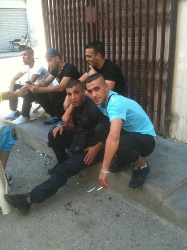 I and my friends on the day of Eid