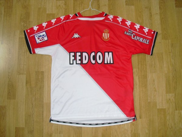 Maillot domicile saison 1999-2000 floqué DA COSTA (de face)