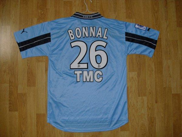 Maillot extérieur saison 2001-2002 floqué BONNAL (de dos)