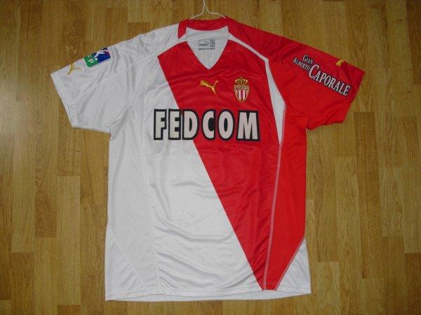 Maillot domicile saison 2004-2005 floqué KALLON (de face)