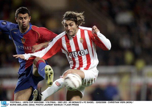 """Maillot """"Europe"""" saison 2005-2006 floqué VIERI (de dos)"""