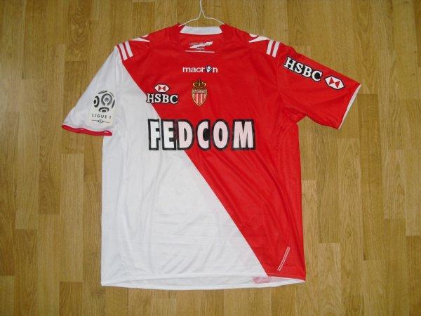Maillot domicile saison 2010-2011 floqué DIARRA (de face)
